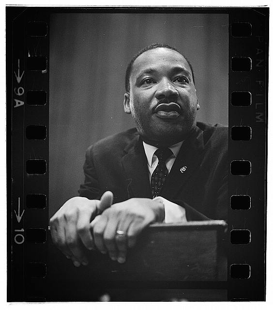 Dr. Martin Luther King, Jr. (Photo is public domain)