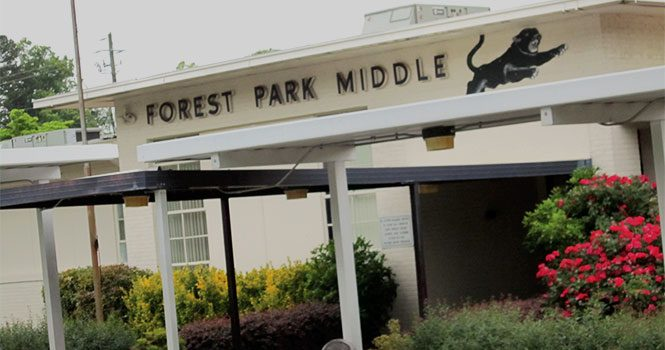 Forest Park Middle School exterior